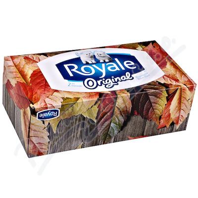 Kapesník papírový Royale Majesta 126ks 2 vrstvý