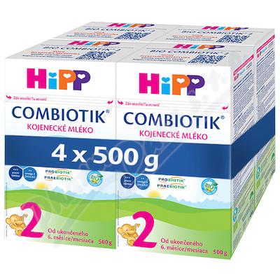 HiPP MLÉKO HiPP 2 BIO Combiotik 4x500g