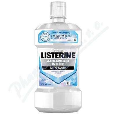 LISTERINE ADVANCED WHITE Mild Taste 500ml