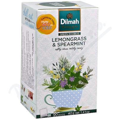 Dilmah Lemongrass&Spearmint bylin.čaj n.s.20x2g