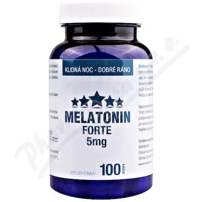 Melatonin Forte 5mg tbl.100 Clinical