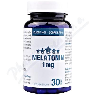 Clinical Melatonin 1 mg 30 tablet