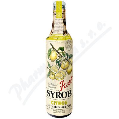 Kitl Syrob Citron s dužninou 500ml