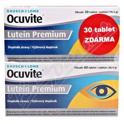 Ocuvite LUTEIN Premium tbl.60+30 zdarma