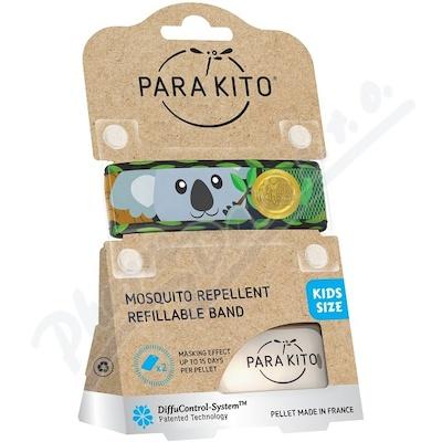 PARAKITO Repelentní náramek dětský Koala+2 náplně