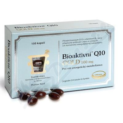 Bioaktivní Q10 Gold 100mg cps.150
