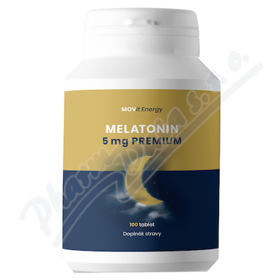 Melatonin Premium 5 mg tbl.100 MOVit