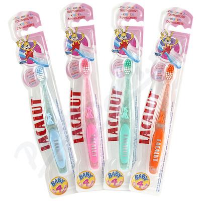 Lacalut zubní kartáček dětský 0-4 let