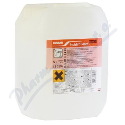 Incidin foam 5 l pěnová dezinf.na plochy a povrchy