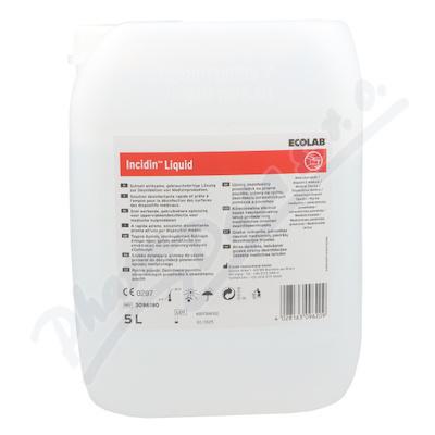 Incidin Liquid rychlá dezinfekce ploch 5 l