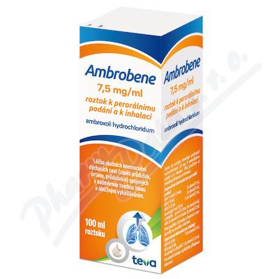 Ambrobene sol.100ml 7.5mg/ml