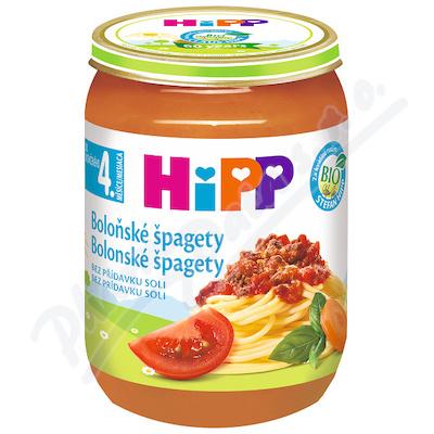 HiPP BABY BIO Boloňské špagety 190g