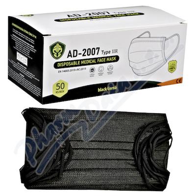 Medical Disposable Mask rouška černá 50ks