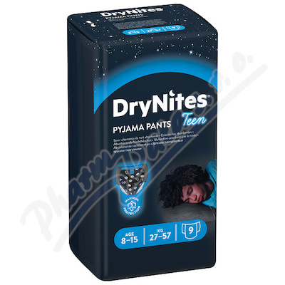 DryNites kalh.abs. pro chlapce 8-15let/27-57kg/9ks