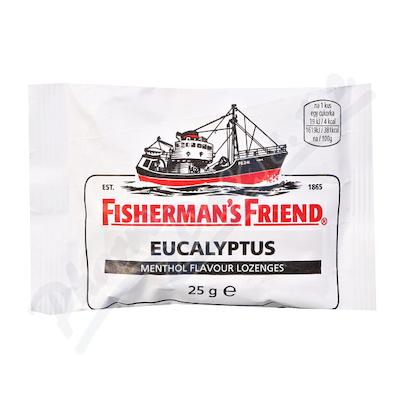Fishermans Friend bonbóny eucalyp-menthol/bílé 25g