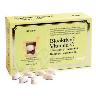 Bioaktivní Vitamin C+Kalcium pH neutrální tbl.30