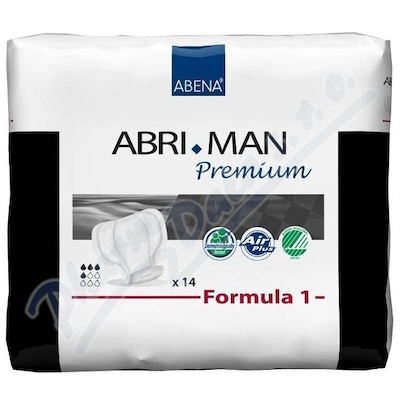 Inkont.vlož.Abri Man Prem.Formula 1 pro muže 14ks