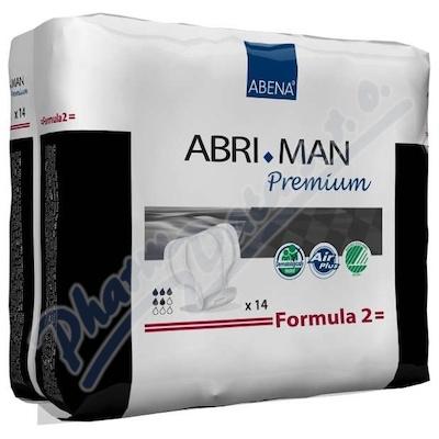 Inkont.vlož.Abri Man Prem.Formula 2 pro muže 14ks