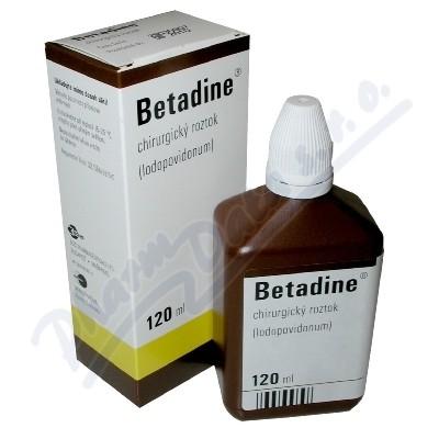 Betadine (chirurg.)liq.1x120ml (H)
