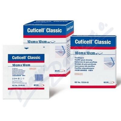 Cuticell Classic 10x10cm 100ks mastný tyl