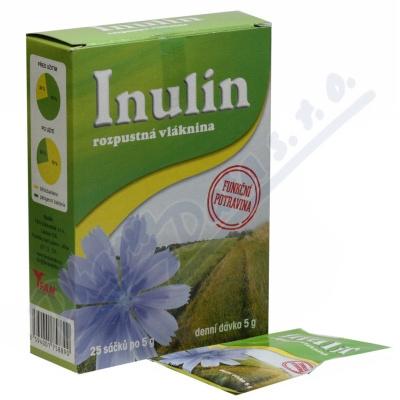 Inulín vláknina na slazení 25x5g
