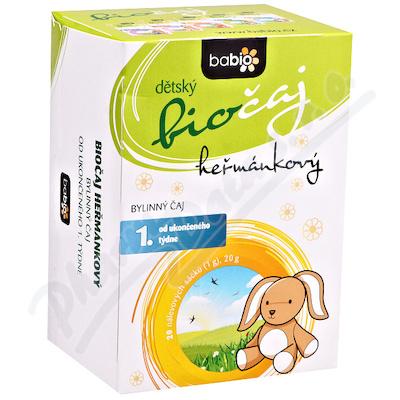 BABIO dětský biočaj heřmánkový 20x1.5g