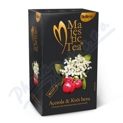 Čaj Majestic Tea Acerola+květ Bezu 20x2.5g