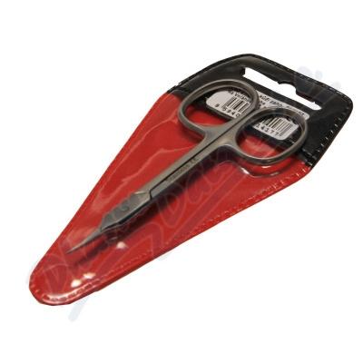 Nůžky na kůži zahnuté 90mm SI-018Z