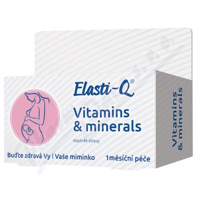 Elasti-Q Vitamins & Minerals s post.uvolňov.tbl.30
