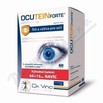 Ocutein FORTE Lutein 15mg Da Vinci Academia 60+15
