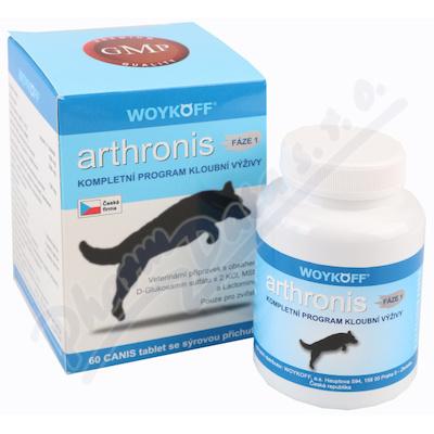Arthronis fáze 1 CANIS sýrová příchuť tbl.60