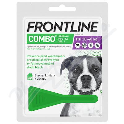 Frontline Combo Spot on Dog L pipeta 1x2.68ml