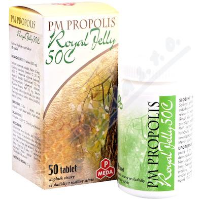 PM Propolis 50C+Royal jelly tbl.50x500mg