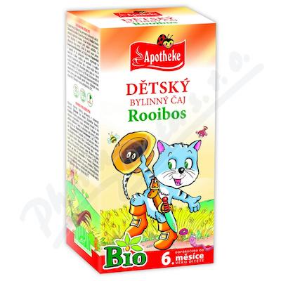 Apotheke Dětský čaj BIO rooibos běžné pití 20x1.5g