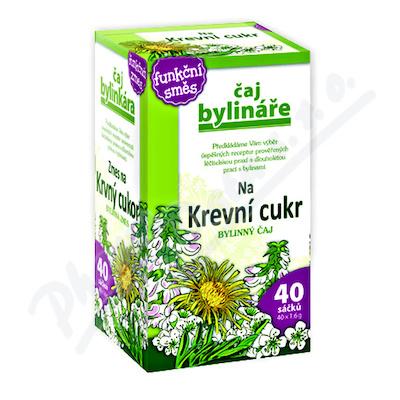 Čaj Bylináře Na krevní cukr 40x1.6g