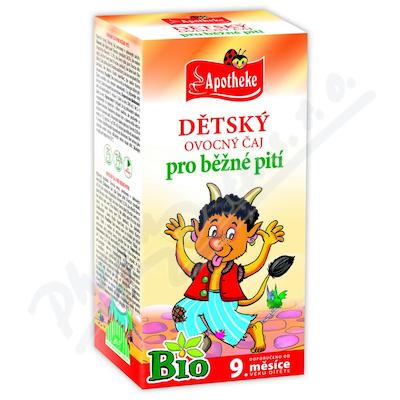 Apotheke Dětský čaj BIO ovocný 20x2g