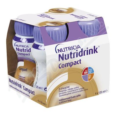 Nutridrink Compact s přích. kávy por.sol.4x125ml