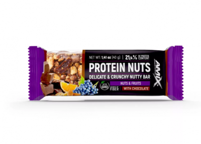 AMIX Protein Nuts Bar 40 g Nuts-Fruits