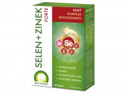 Selen + Zinek Forte 60 tablet