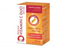 Premium Vitamin C Duo 500 mg 60 kapslí