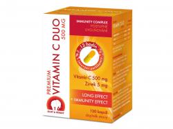 Premium Vitamin C Duo 500 mg 120 kapslí