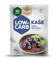 Topnatur Low carb kaše Kakao & borůvka 60 g