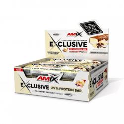 Amix Exclusive Protein Bar - Bílá Čokoláda/Kokos 85g