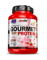 Amix™ GOURMET PROTEIN - Jahoda/Bílá Čokoláda 1000g